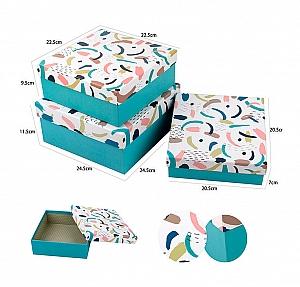 Подарочная коробка «Абстракция» средняя