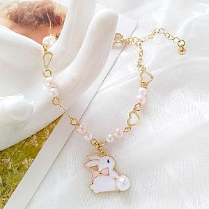 Браслет «Белый кролик»