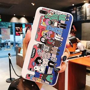 Чехол для iPhone «В метро»