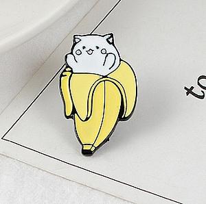 Брошь-значок «Бананька»