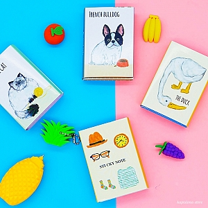 Мини-книжка со стикерами «Animals»