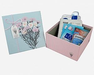 Подарочная коробка «Beautiful flowers» средняя