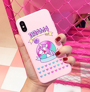 Чехол для iPhone «Unicorn drama»
