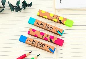 Стирательная резинка «All right»