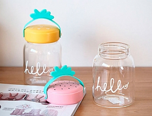 Бутылочка «Hello, fruits»
