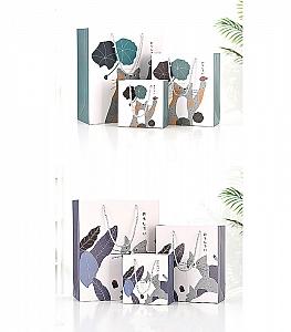 Подарочный пакет «Котик на прогулке» средний