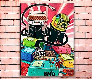 Постер «Daft time» большой