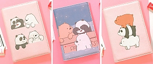 Обложка на паспорт «We bare bears»