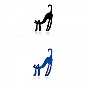 Брошь-значок «Котейка»