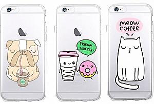 Чехол для iPhone «We love coffee»