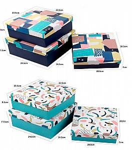 Подарочная коробка «Абстракция» большая