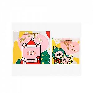 Подарочный пакет «Piggy's Christmas» большой