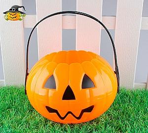 Корзинка на Хэллоуин «Тыква»
