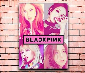 Постер «Blackpink» большой