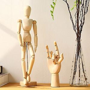 Деревянная фигурка человека «Гестальта»