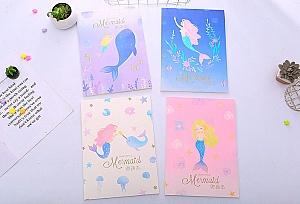 Скетчбук «Our little mermaid»
