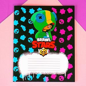 Тетрадь «Brawl Stars»