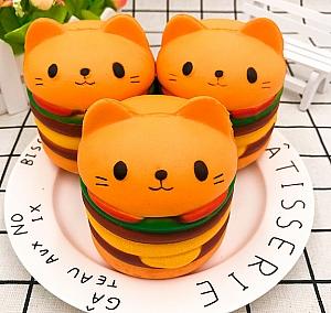 Сквиши «Кот-гамбургер»