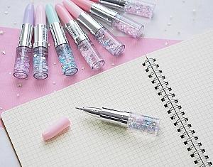 Ручка с блестками «Lipstick»