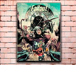 Постер «Fallout» средний