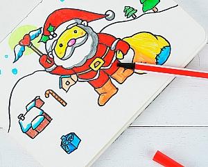 Набор разноцветных фломастеров «Winter»
