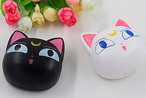 Футляр для хранения контактных линз «Sailor moon cats»