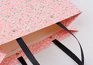 Подарочный пакет «Flowers» маленький