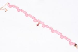 Чокер «Pink flower»