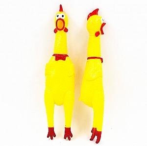 Резиновая игрушка «Big Squeeze chicken»