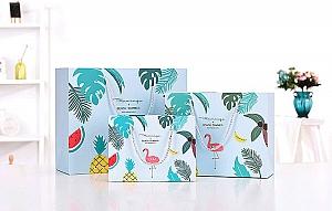 Подарочный пакет «Flamingo & Beach summer» большой