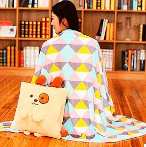 Подушка+плед «Animal»