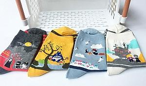 Носочки «Мир Хаяо Миядзаки»