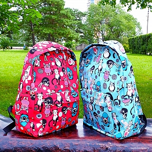 Рюкзак «Many many cats»