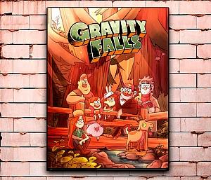 Постер «Gravity Falls» средний