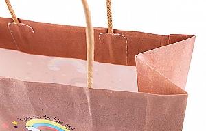 Подарочный пакет «Mermaid and unicorn» средний