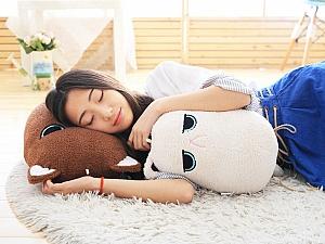 Мягкая игрушка-подушка «Кошка-картошка»