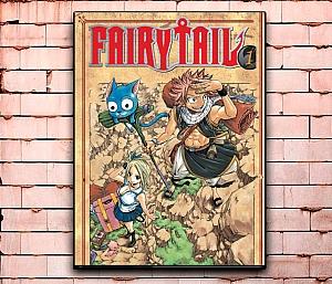 Постер «Fairy Tail» средний