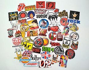 Набор наклеек «Музыкальные группы»