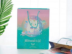 Подарочный пакет «Кот русалка»