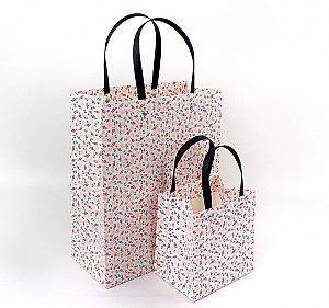 Подарочный пакет «Flowers» средний
