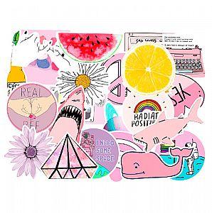 Набор наклеек «My summer»