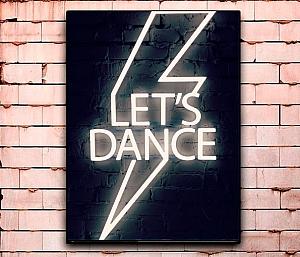 Постер «Music is my life» средний