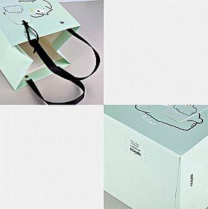 Подарочный пакет «Jolly bear» маленький