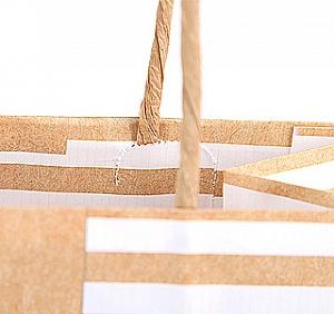 Подарочный пакет «Brown» средний