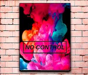 Постер «No control» большой