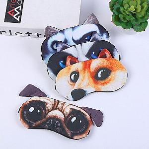 Маска для сна «3d пес»