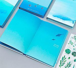 Блокнот «Dream blue day» большой