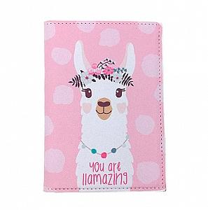 Обложка на паспорт «Beautiful Lama»