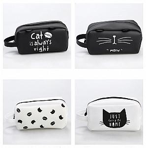 Пенал «Black and white cat»