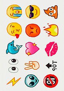 Временная татуировка «Favourite things» (маленькая)